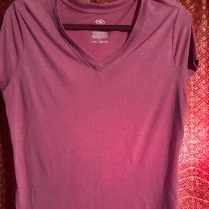 Athletic pink/purple shirt